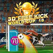 FREE ONLINE GAMES: 3D Free Kick World Cup 18