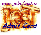 JEST Admit Card 2014 Hall Ticket Download www.jest.org.in