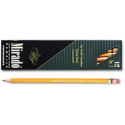 Paper Mate Mirado Woodcase Pencil, HB #2, Yellow Barrel, Dozen: Office