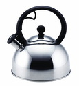 Stainless Steel Teakettles 2-Quart Whistling
