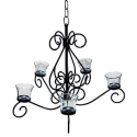 Votive Chandelier- Country Living-Outdoor Living-Outdoor Lighting-Decorative Lighting