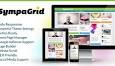SympaGrid - Responsive Grid WordPress Theme Preview - ThemeForest