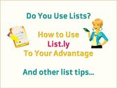 Embed Your Lists on Your Blog