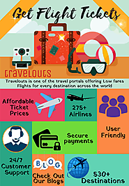 Get Flight Tickets At The Affordable Price - Travelouts