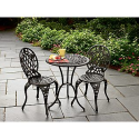 Cast Iron & Aluminum Bistro Set- Country Living-Outdoor Living-Patio Furniture-Bistro Sets