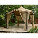 Peaked Top Gazebo- Garden Oasis-Outdoor Living-Gazebos, Canopies & Pergolas-Gazebos