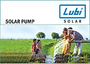 Lubi AC Solar Stainless Steel Submersible Borewell Pumps