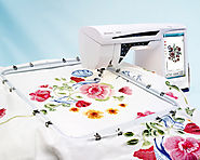 Husqvarna Viking Embroidery Machine | Diamond deLuxe