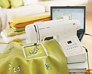 Husqvarna Viking Embroidery Machine | H|Class 500E