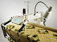 Husqvarna Viking Sewing & Quilting Machine | Mega Quilter 18 x 8