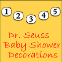 Dr Seuss Baby Shower Decorations