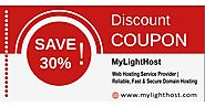 Web Hosting -30%offer at MyLightHost (Site-Wide) | Dealspotr