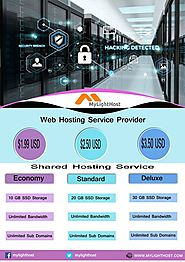 Host your website with excellent packages and prices. Mylighthost a web hosti… | Web Hosting Service Provider | Relia...