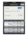 Reminders App on iPhone