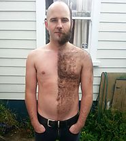 Weird trend by men; Sharing freshly cut body hair designs - Suddl