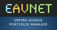 EavNet - Manage your Empire Avenue portfolio