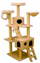 Majestic Pet 73 Inch Bungalow Cat Tree
