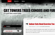 Cat Towers Trees Condos And Furniture