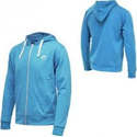 More Mile Full Zip Hoody HZM96 - Blue / White