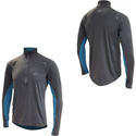 More Mile Hi-Viz Half Zip Mens Running Top
