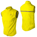 More Mile Hi-Viz Running Gilet - yellow
