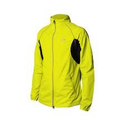 More Mile More-Tech Reflective Running Jacket - Yellow / Black