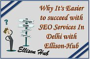 Why It's Easier to succeed with Best SEO Services In Delhi with Ellison-Hub