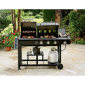 Charcoal and Gas Grill Combo- Nexgrill-Outdoor Living-Grills & Outdoor Cooking-Gas Grills
