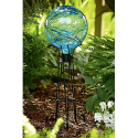 Gid Gazing Ball - Blue- Garden Oasis-Outdoor Living-Outdoor Decor-Lawn Ornaments & Statues