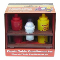 Mr. Bar-B-Q Picnic Table Condiment Set--Outdoor Living-Grills & Outdoor Cooking-Cooking Tools