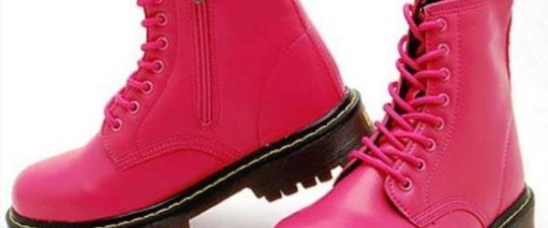 Headline for Best Rated Pink Combat Boots for Women 2014