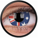 Australian Flag Crazy Contact Lenses