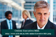 Online Executive MBA from India's largest Universities
