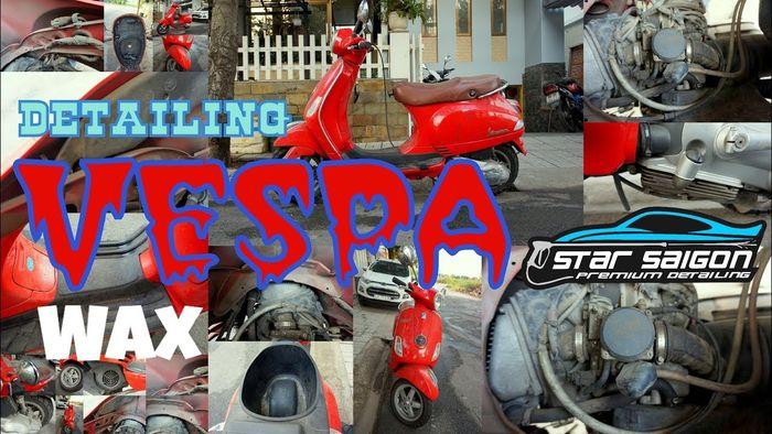 Vespa Detailing - SSG Premium Detailing part 1/2