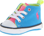 Ralph Ralph Lauren Layette Harbour Hi Top walking Sneaker Infant