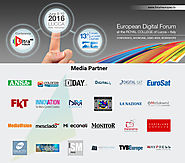 Social Media Press anche quest'anno Media Partner del 13° Forum Europeo Digitale
