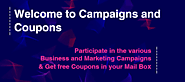 Campaigns and Coupons | Best coupon providers.