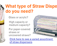 Best Straw Dispensers for the Counter - Glass, Acrylic or Retro?