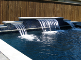 Sheer Decent Water Fall in Dallas Fort Worth TX by Dolce Pools