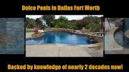 Swimming Pools Builders Dallas Fort worth Arlington southLake TX DolcePools