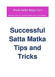 Successful Satta Matka Tips and Tricks