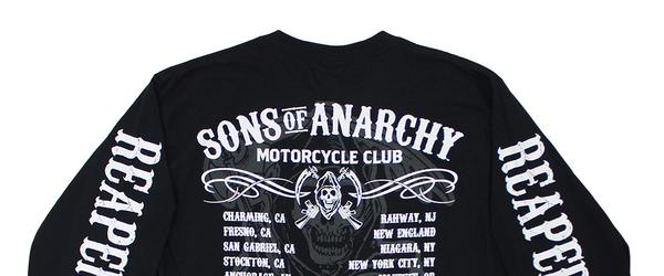 Headline for Sons of Anarchy Apparel 2014