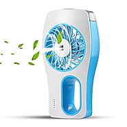 CTLpower Handheld Fan,Portable Mini Misting Personal Cooling Fan with Soft Wind and Ultra-quiet for Travel,Home,and O...