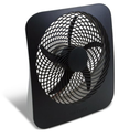"Amazon.com - O2COOL NEW 10"" Battery Operated Fan with Adapter - Electric Household Tabletop Fans"
