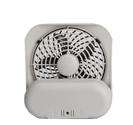 "O2COOL 5"" Battery Operated Portable Fan in GREY"