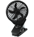 "O2COOL 5"" Battery Operated Clip Fan"