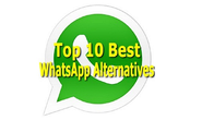 Top 10 alternatives to WhatsApp Messenger