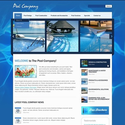 Pool Cleaning Flash Cms Template #42782