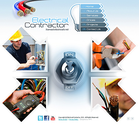 Electrical Contractor easy flash website template - Tonytemplates