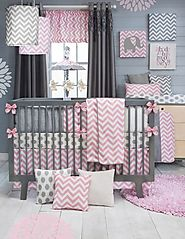 Chevron Nursery Decor Ideas for a Baby Girl